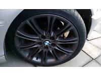 "Bmw MV 2 18"" alloys and tyres"
