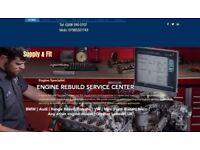 FORD TRANSIT RECOND ENGINE EURO 5 2.2cc