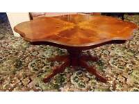 Bargain price quality wood coffee table