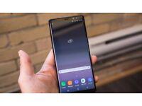 Unlocked Black Samsung Galaxy Note 8