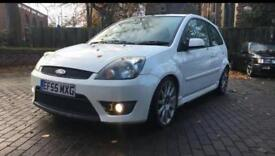 2005 (55) FORD FIESTA 2.0L ST150 WHITE FAST CAR MOTED