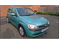 Vauxhall Corsa 1.7 Diesel, 9 Months MOT, Economical