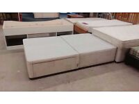 Small double bed base only with 2 drawers