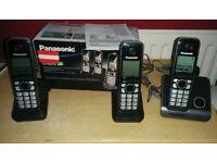 Panasonic wireless cordless phone set