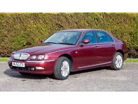 Rover 75 1.8 Turbo. Full Years MOT. New HEAD GASKET and TIMING BELT. See below for full recon list.