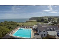 static caravan holiday homes for sale stunning whitecliff Bay holiday park bembridge isle of wight