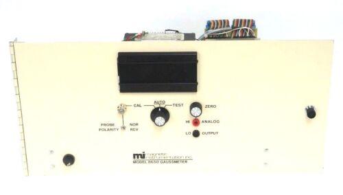 MAGNETIC INSTRUMENTATION INC. MODEL 8650 GAUSSMETER CHASSIS 115V, 1/2 AMP