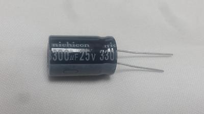 10 Pcs 3300uf 3300mfd 25v Electrolytic Capacitor 105 Degrees Usa Free Shipping
