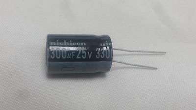 2 Pcs 3300uf 3300mfd 25v Electrolytic Capacitor 105 Degrees Usa Free Shipping