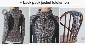 Lululemon backpack it jacket and skating jacket
