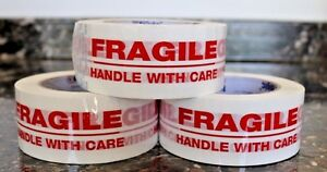 1 Roll Fragile Handle with Care 2