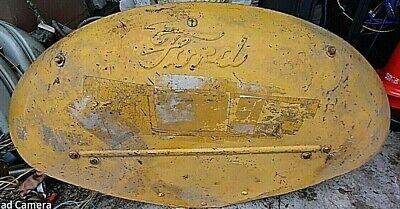 Fender Ford Tractor 8n 9n 2n Naa Jubilee Nab Raised Script Pre-owned