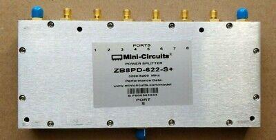 Mini Circuits Zb8pd-622-s8 Ways Dc Pass Power Splitter 3200 - 6200 Mhz 50