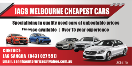 ca1fe5c495 Other Ads from Jags Melbourne Cheapest Cars