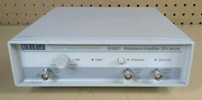 Thurlby Thandar Instruments Wa301 Wideband Amplifier 30v Pk-pk 3h