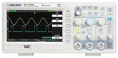 Siglent Sds1102cml 2-channel Digital Oscilloscope 100 Mhz 1 Gsas 2 M