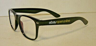 New 2021 eBay Open Online Blue Light Blocking Glasses Promo Black White Silver