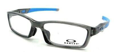 Oakley Rx Eyeglasses Frames OX8118-0656 56-17-137 Crosslink A Grey Smoke / Blue