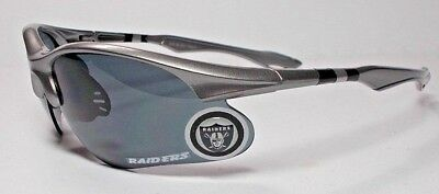 READ LISTING! Oakland Raiders BULLSEYE XL 3-D Logo. Metallic Blade Sunglasses - Bullseye Sunglasses