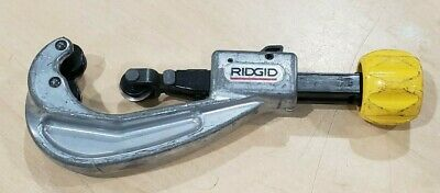 Ridgid Quick Acting Cutter Split Floating Guide Wheels 151 Csst 38-1 Pre-owned