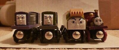 Thomas & Friends Wooden Tank Engine Train Lot DODGE, SPLATTER, DIESEL 10, & LADY