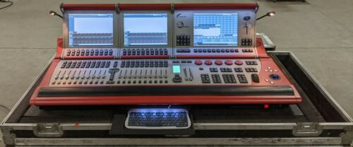Compulite Vector Red Lighting Console w/ Road Case