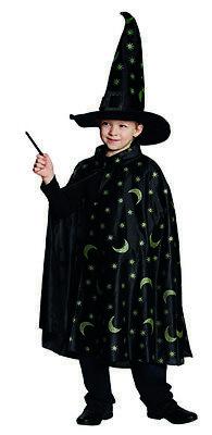 Zauber-Cape Magier Zauberer Kostüm für Kinder ()