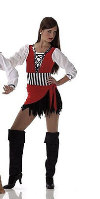 Plus Size Pirate Costume Dance Halloween Character 3XL