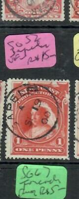 NIGER COAST (P2606B) QV  1D    SG 52  SAPELE      CDS   VFU
