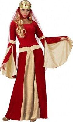 Kostüm Frau DAME mittelalterliche XS/S 36/38 mittel Age - Mittelalterliche Kostüme Billig