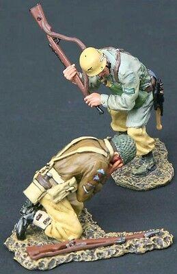THOMAS GUNN WW2 GERMAN DAK FALLSCHIRMJAGER FJ004B KNOCK OUT BLOW DESERT MIB