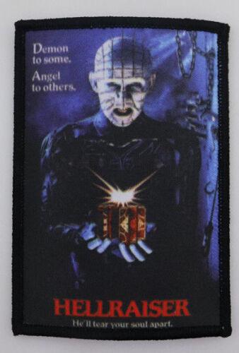 PATCH - Hellraiser / Pinhead - HORROR movie - Clive Barker,  Cenobites