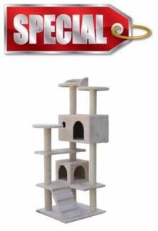 130cm Cat Tree, Scratch Post, Scratching Pole,Scratcher Furniture