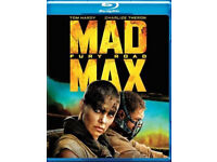 Mad max: Fury road BLU-RAY (Tom hardy) +other titles