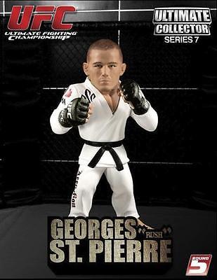 GEORGES ST. PIERRE UFC ROUND 5 SERIES 7 REGULAR EDITION FIGURE GSP - MINT