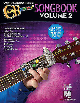 Guitar Chord Songbook Book - ChordBuddy Guitar Method Songbook Vol 2 - Chord Buddy Book Only NEW 000146174