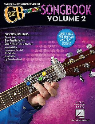 Guitar Chord Songbook Book - ChordBuddy Guitar Method Songbook Vol 2 - Chord Buddy Book Only NEW 000146174