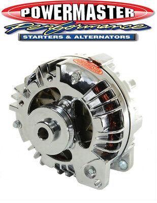 Powermaster 17519 Dodge Mopar 75 Amp Alternator Square Back V-Belt Pulley Chrome
