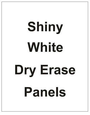 Message Board Sign Dry Erase Insert Replacement Panel 24 X 36