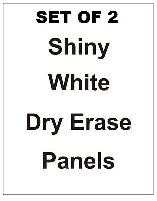 2 -24 X 36 Dry Erase Board Replacement Panels Sandwich Board Sidewalk Sign