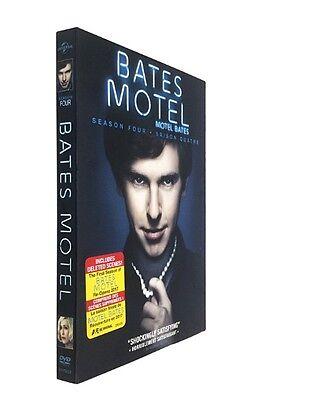 Bates Motel Season Four 4 (DVD, 2016, 3-Disc Set)