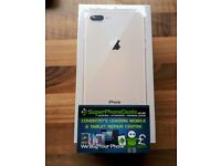 APPLE IPHONE 8 PLUS 64GB - UNLOCKED TO ALL NETWORKS - BRAND NEW - APPLE WARRANTY