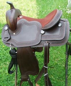 16 IN NEW GRIFFITH WESTERN SADDLE