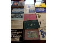 Old Bagpipe Music Books Wanted