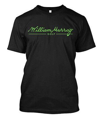 william murray golf - black custom t-shirt tee - Customized Golf Tees