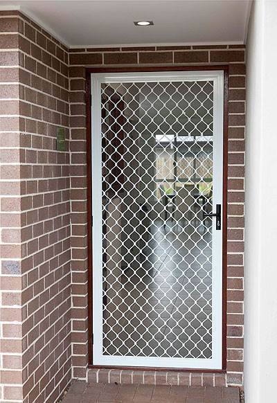 Custom Made Fly Screens And Security Doors Curtains