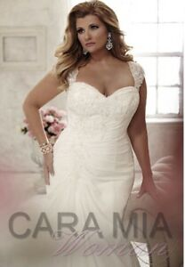 Cara Mia Plus Size Wedding Dress