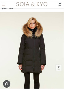 Soia & Kyo Salma Down Jacket in Small For Sale! Good condition