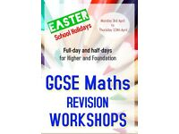Maths Tutor GCSE Exam Tuition Milton Keynes Easter School Holidays Revision Mathematics Workshops