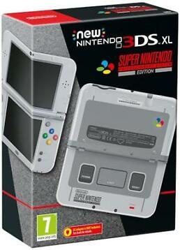 NEW Nintendo 3DS XL SNES Edition (Nintendo 3DS)